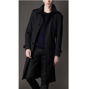 924abb444acbf Burberry Jackets   Coats - Burberry Men s Long Black Trench Coat